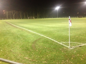 The wonderful undulating pitch at Rectory Meadow