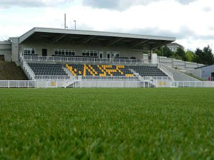 Maidstone United's Gallagher Stadium has a 3g pitch installed