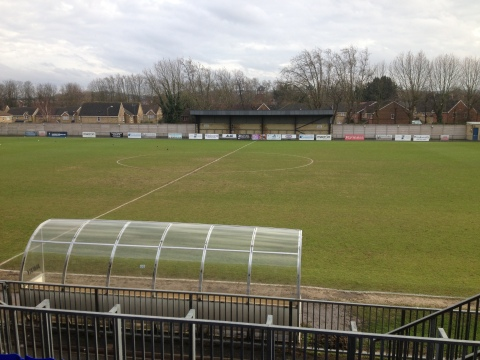 The pitch before kickoff...