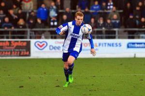 Chester's match winner Jamie Menagh