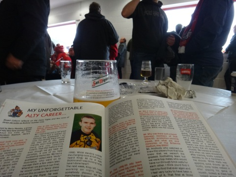Stuart Coburn joins me for a pint (sort of) in the Alty FC bar