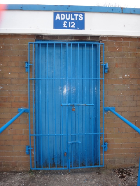 The traditional turnstiles at the Celts' home