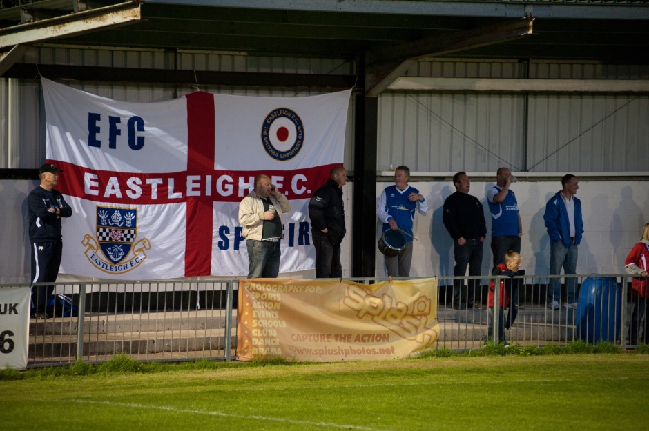 Travelling Eastleigh fans