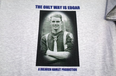 One of the t-shirt designs on offer at Champion Hill