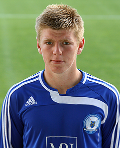A youthful Carl during his Peterborough days.