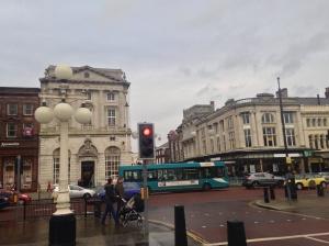 Southport's impressive town centre.
