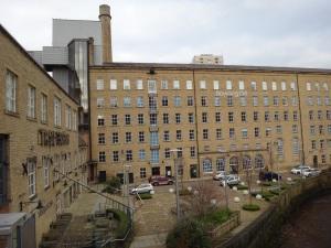 Halifax's historic Dean Clough complex.